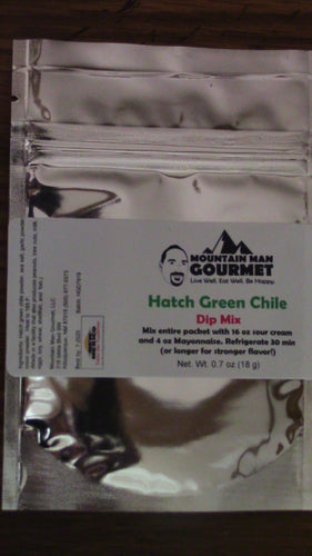 Hatch Green Chile Dip Mix