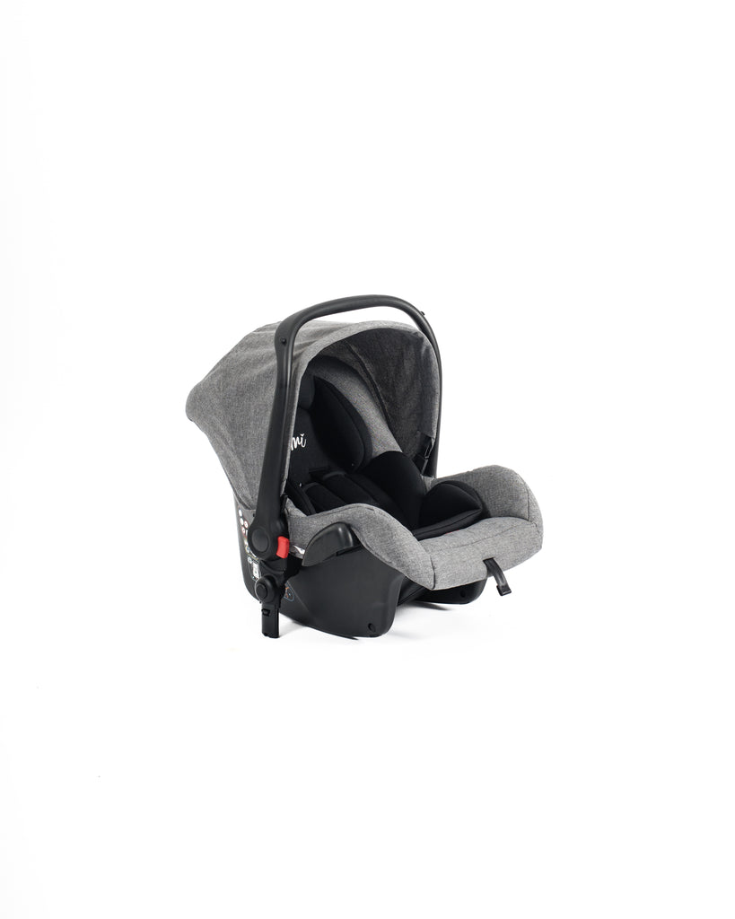 Mimi Luxe 3 in 1 -  Isofix Travel System | Misty Grey