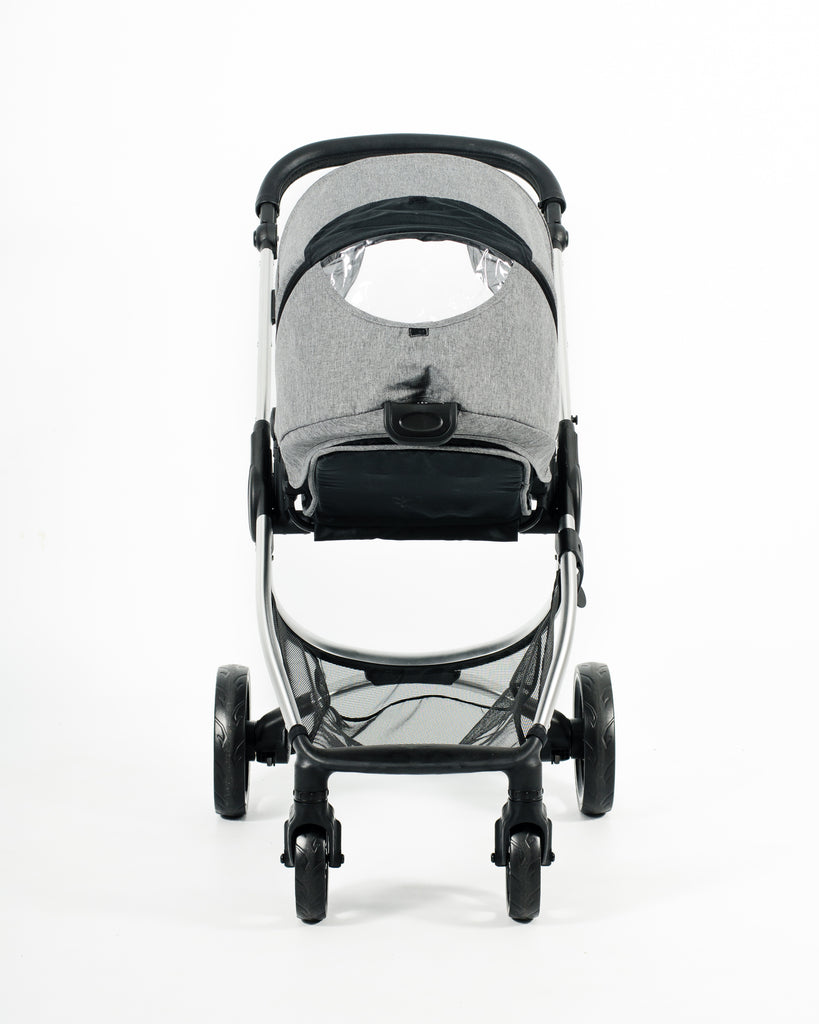 Mimi Luxe 2 in 1 - Carrycot Travel System | Misty Grey - (Pre-order)