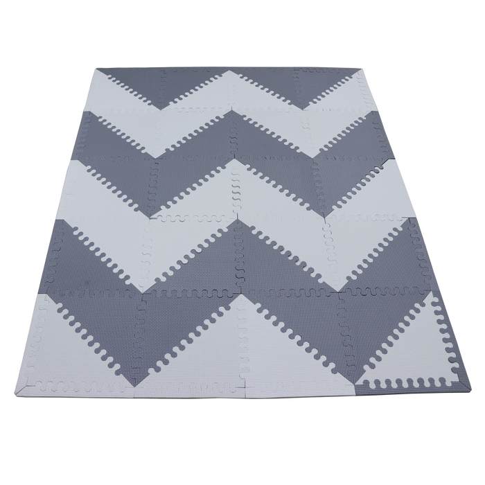 Mimi play mat - Grey and White