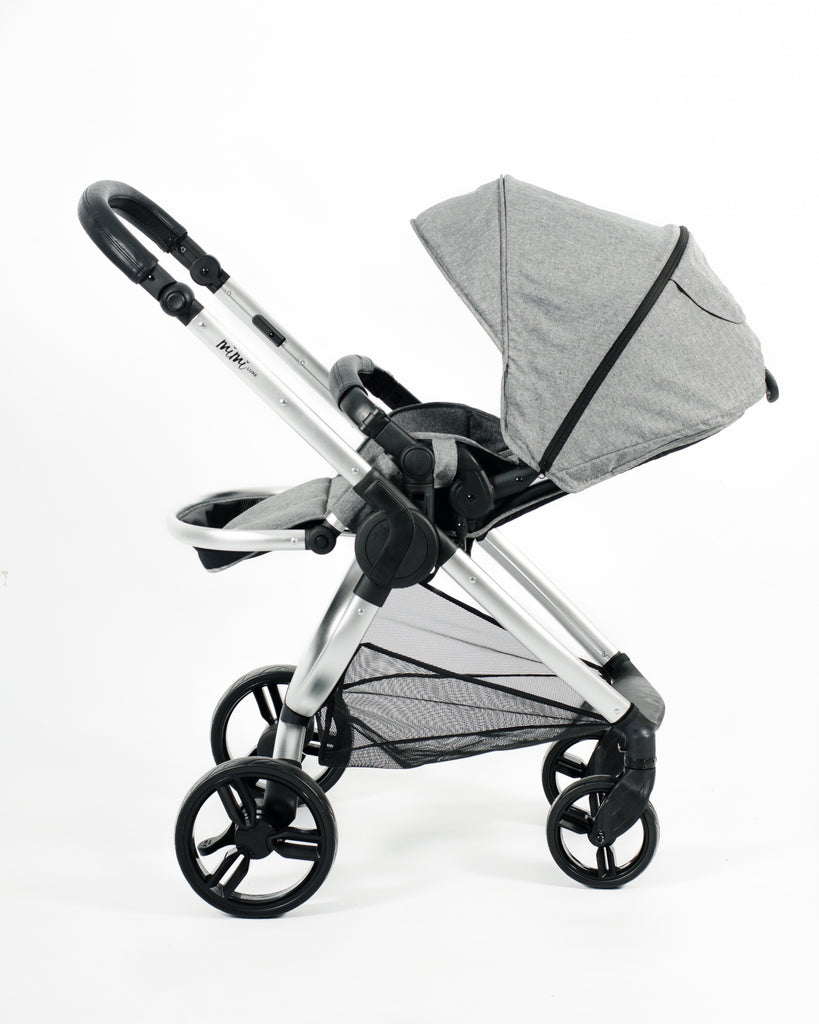 Mimi Luxe 3 in 1 - Carrycot Travel System | Misty Grey