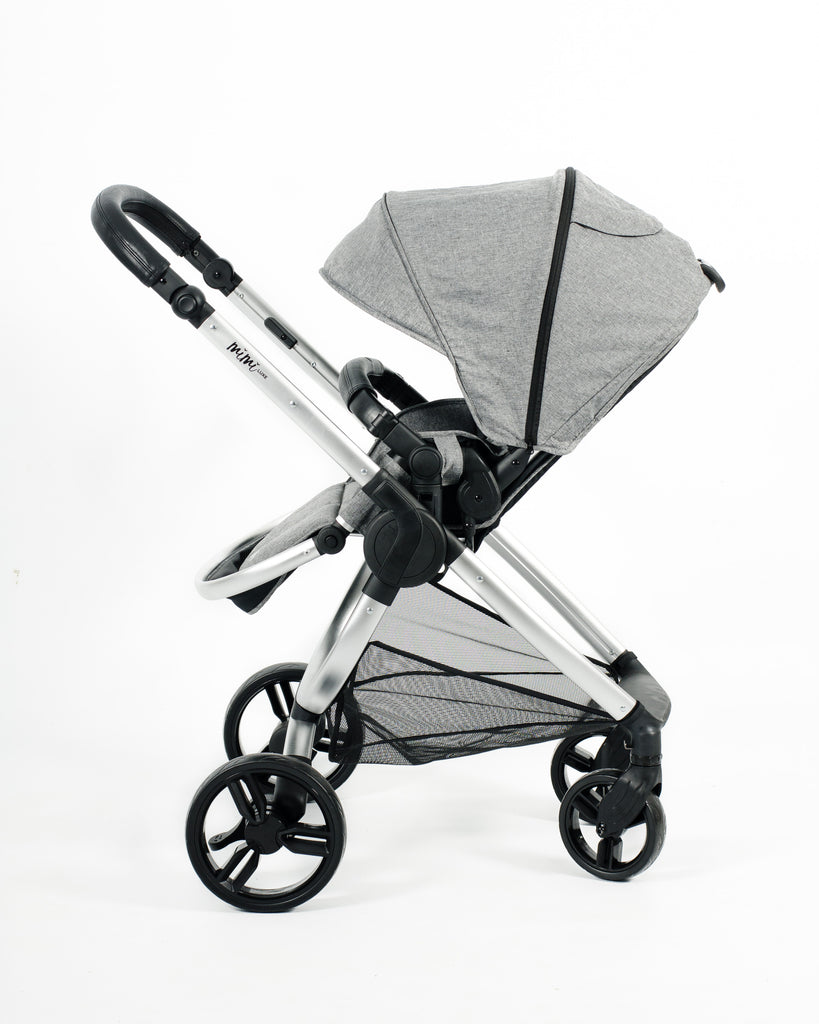 Mimi Luxe 4 in 1 Travel System | Misty Grey