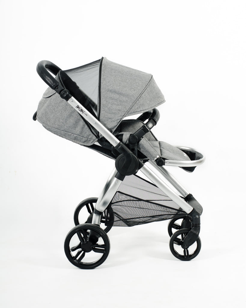 Mimi Luxe 3 in 1 -  Isofix Travel System | Misty Grey - (Pre-order)