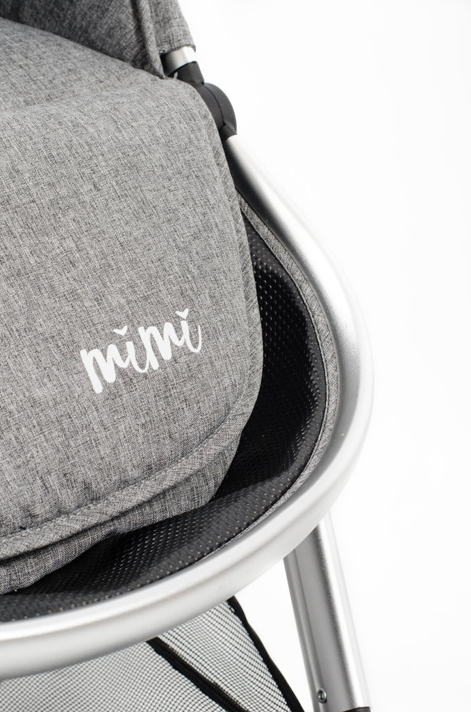 Mimi Luxe 5 in 1 Travel System | Misty Grey