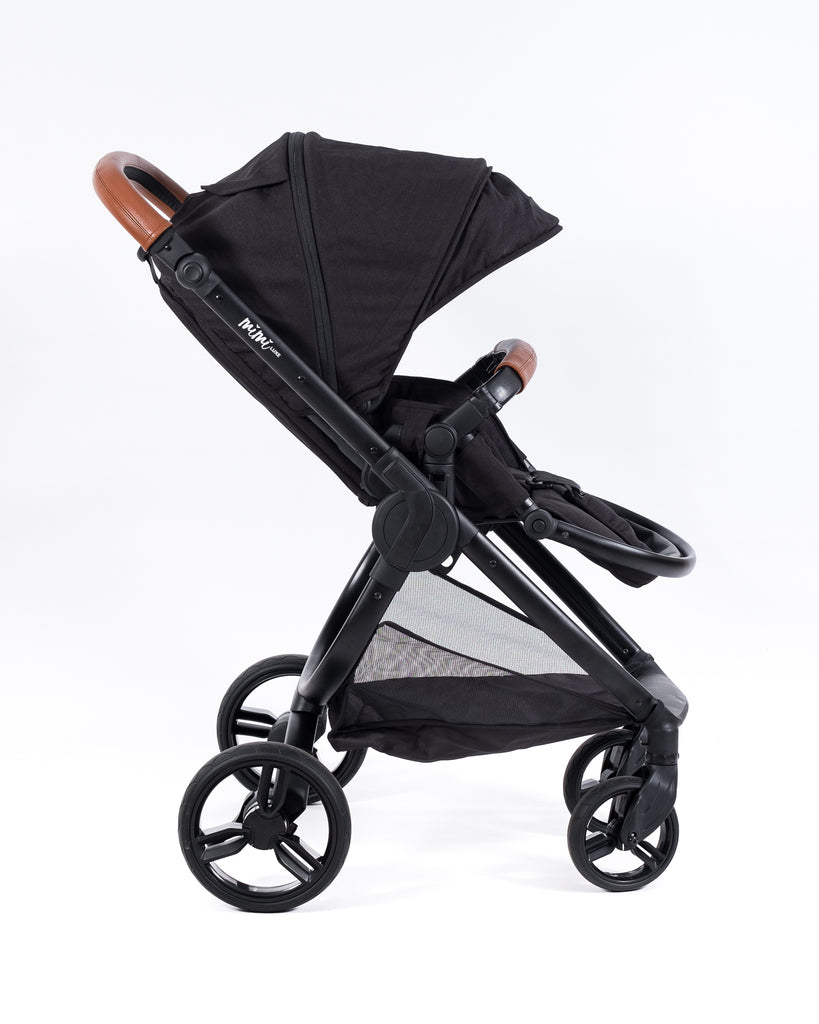 Mimi Luxe 4 in 1 Travel System | Black & Tan