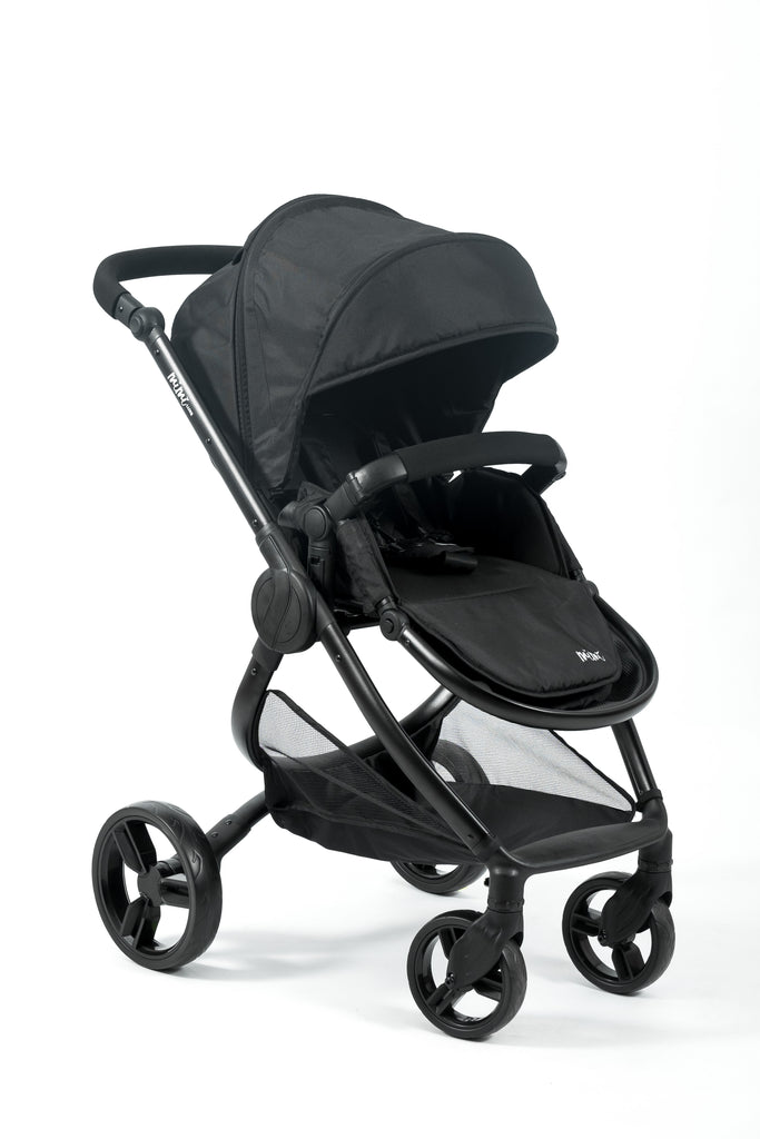 Mimi Luxe 3 in 1 -  Isofix Travel System | Jet Black