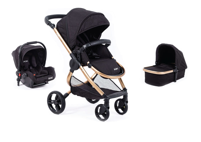 Limited Edition | Mimi Luxe 3 in 1 - Carrycot Travel System | Gold