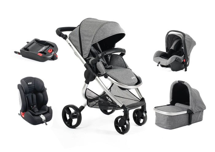 Mimi Luxe 5 in 1 Travel System | Misty Grey - (Pre-Order)