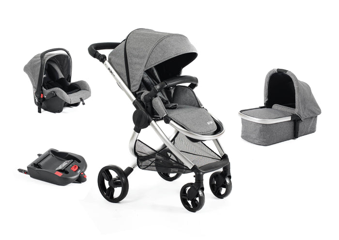 Mimi Luxe 4 in 1 Travel System | Misty Grey - (Pre-order)