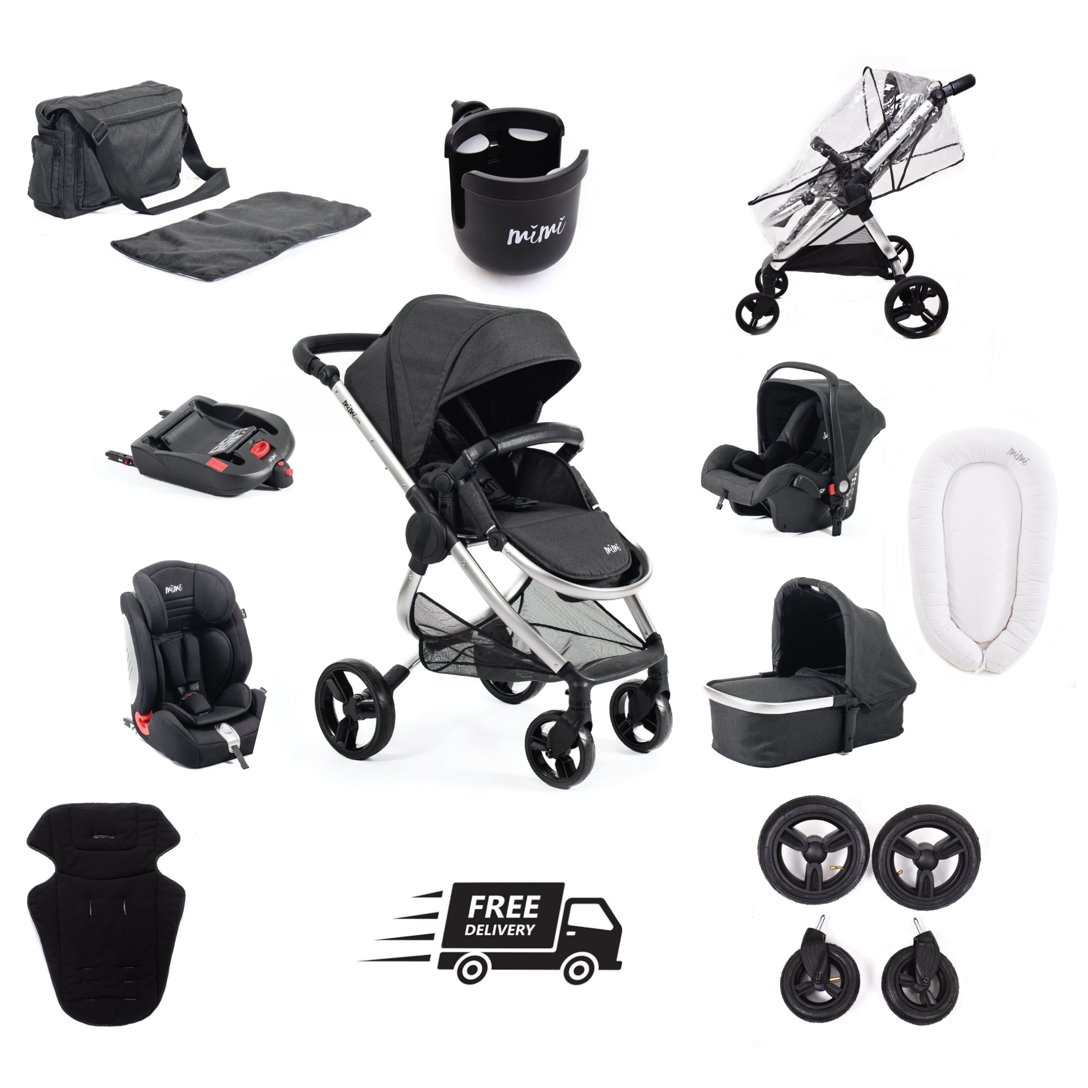 Mimi Luxe All In 1 Travel System  Baby Pod BLACK FRIDAY DELUXE DEAL