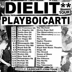 Playboi Carti Die Lit Tour