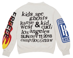 "KIDS SEE GHOSTS ""FREEEE"" CREWNECK"