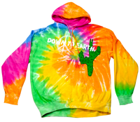 Travis Scott Astroworld x DSM Down To Earth Hoodie Tie Dye