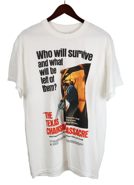 Travis Scott X  Texas Chainsaw Massacre Survive T-Shirt