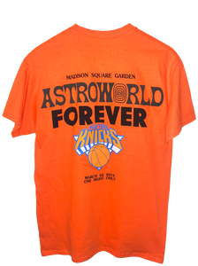 Travis Scott Astroworld MSG Knicks T-Shirt