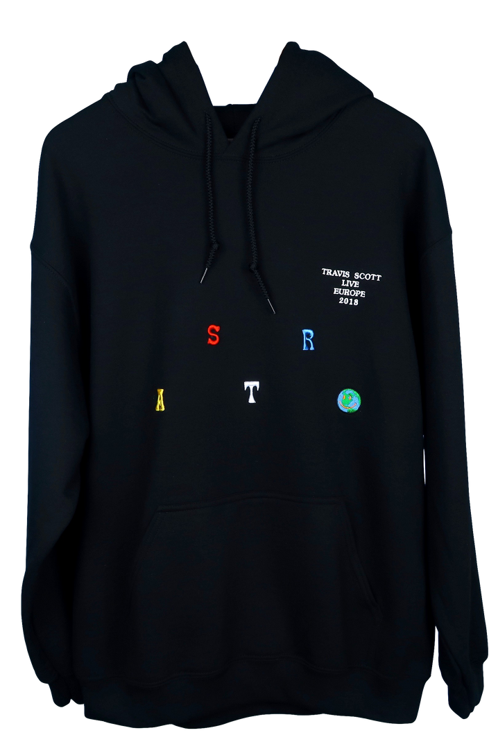 Travis Scott Astroworld Europe 18' Hoodie