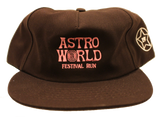 Travis Scott Astroworld Festival Run Chocolate Hat