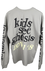 "KIDS SEE GHOSTS ""11.11"" LONG SLEEVE"