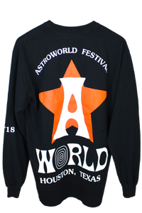 "Travis Scott Astroworld Festival ""Astros"" Long Sleeve"