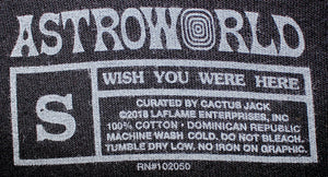 Travis Scott Astroworld Festival Jack in the Box T-Shirt