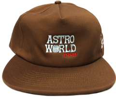 Travis Scott Astroworld Festival Run Light Brown Hat