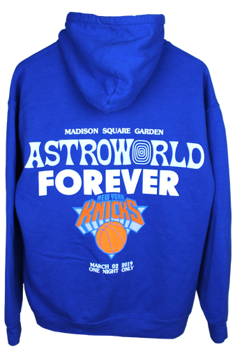 Travis Scott Astroworld MSG Knicks Hoodie