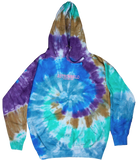 Travis Scott Astroworld Festival Run Tie Dye Hoodie