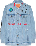 Travis Scott Astroworld Denim Jacket