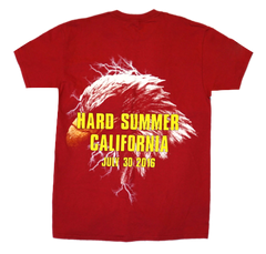 Travis Scott Hard Summer 16' Red T-Shirt