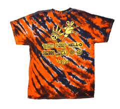 Flatbush Zombies Vacation in Hell Tie Dye T-Shirt