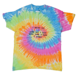 Travis Scott Lollapalooza Astroworld Tie Dye T-Shirt