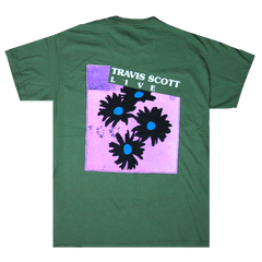 Travis Scott Astroworld Festival Run Flower T-Shirt