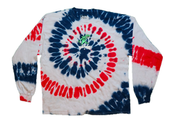 Flatbush Zombies Red/White/Blue Long Sleeve