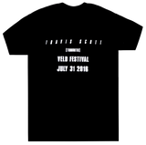 Travis Scott Black Veld Fest T-Shirt