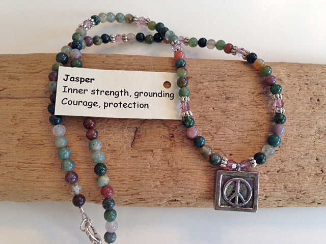 Pewter Peace / Dove Fancy Jasper