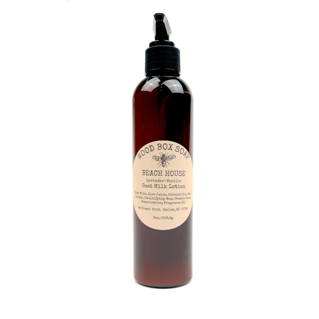 Beach House Goat Milk Lotion - Lavender-Vanilla 8 oz.