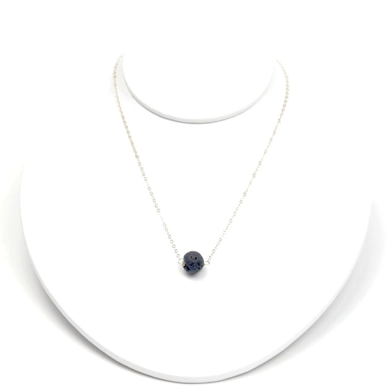 Aromatherapy Lava Stone Necklace