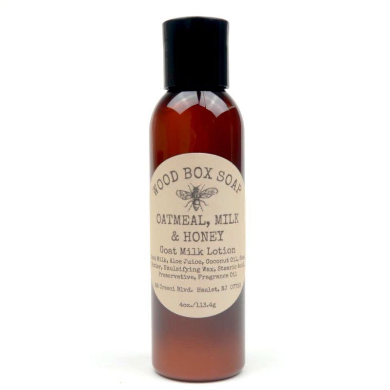 Oatmeal, Milk & Honey Goat Milk Lotion 4 oz.