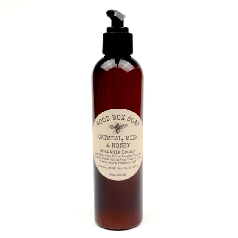 Oatmeal, Milk & Honey Goat Milk Lotion 8 oz.
