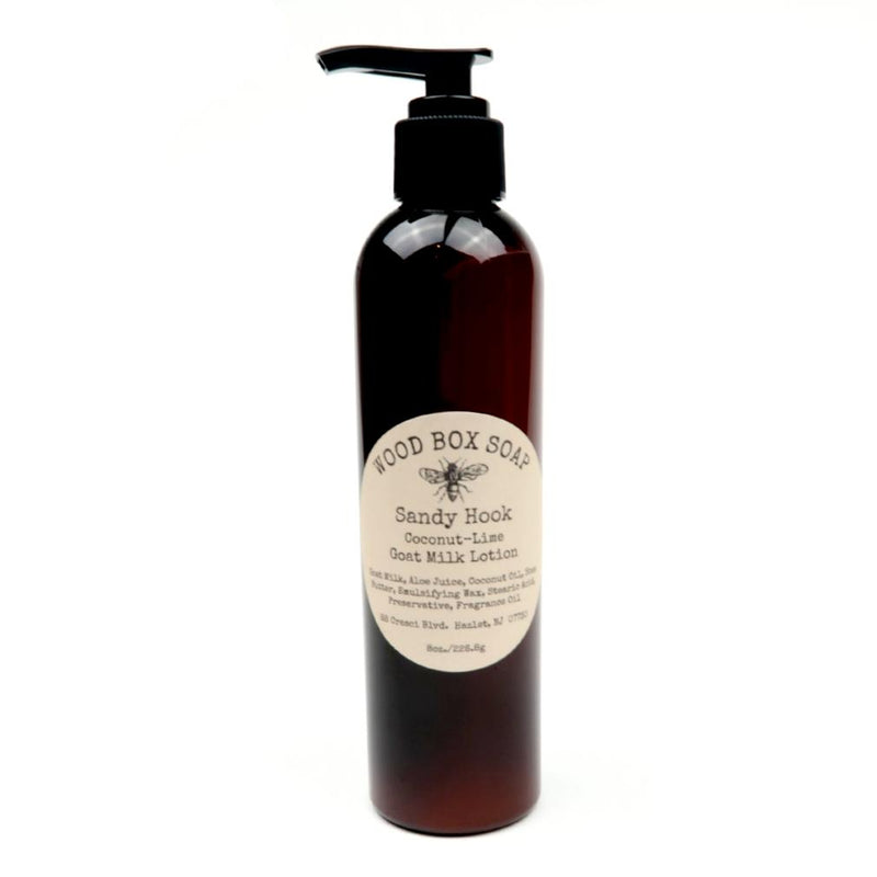 Sandy Hook Goat Milk Lotion - Coconut-Lime 8oz.