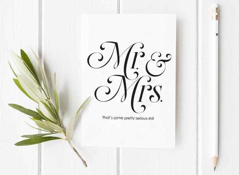 Greeting Card - Mrs. & Mrs.