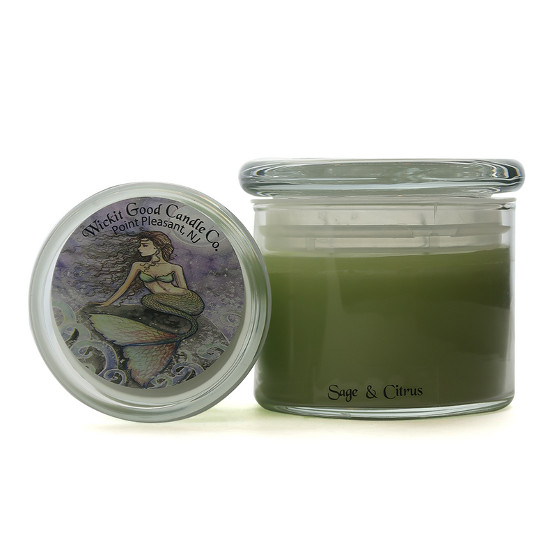 Triple Scented Candles - Sage & Citrus