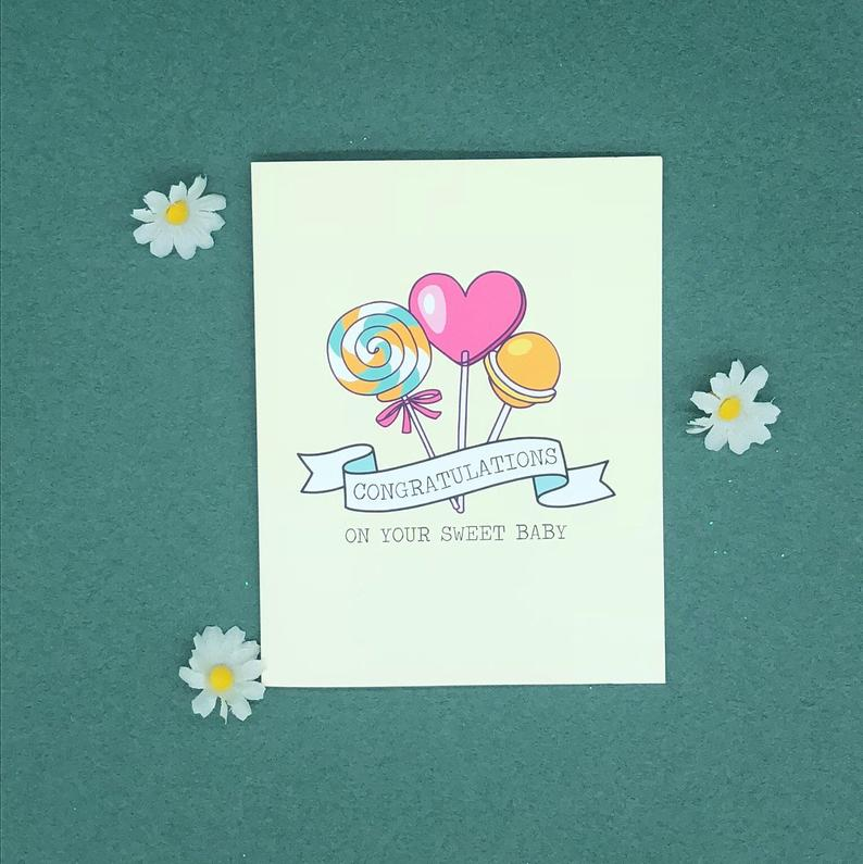 Greeting Card - Sweet Baby