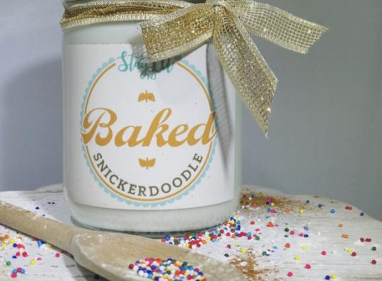 'Baked' Soy Wax Candle