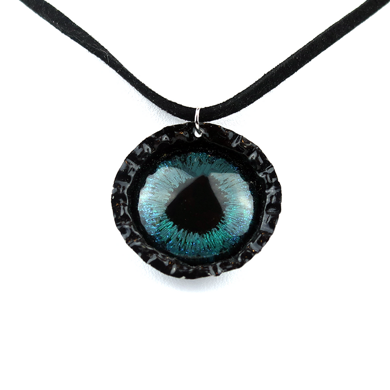 Dragon Eye Bottle Cap Necklace