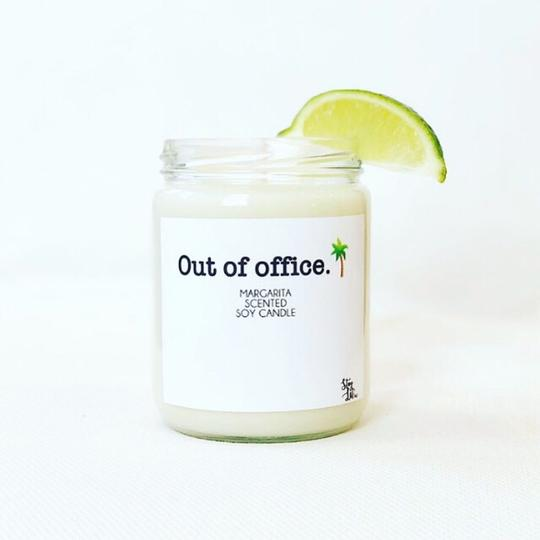 'Out Of Office' Soy Wax Candle