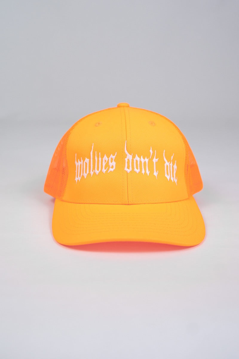 Wolves Don't Die Trucker Snapback