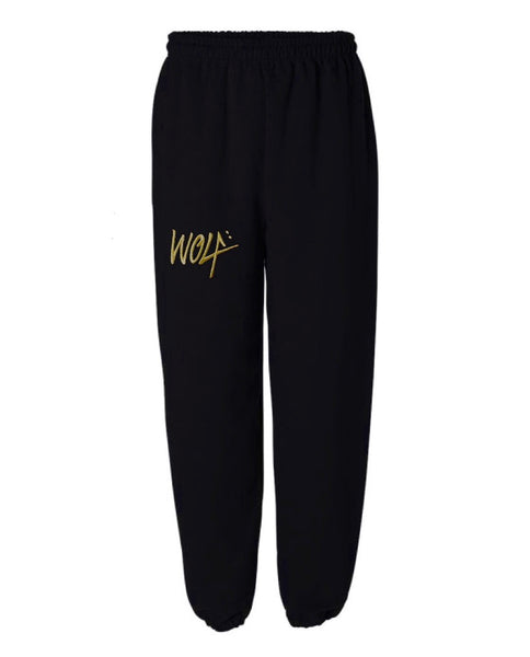 Gold Wolf Sweatpants