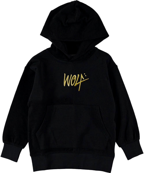 Gold Wolf Hoodie