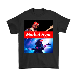 Morbid Hype Shred Masters Box Logo Design